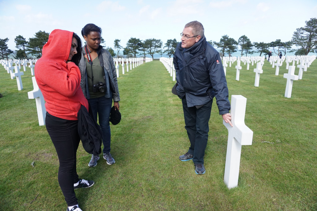 Normandy War Memporial Tour