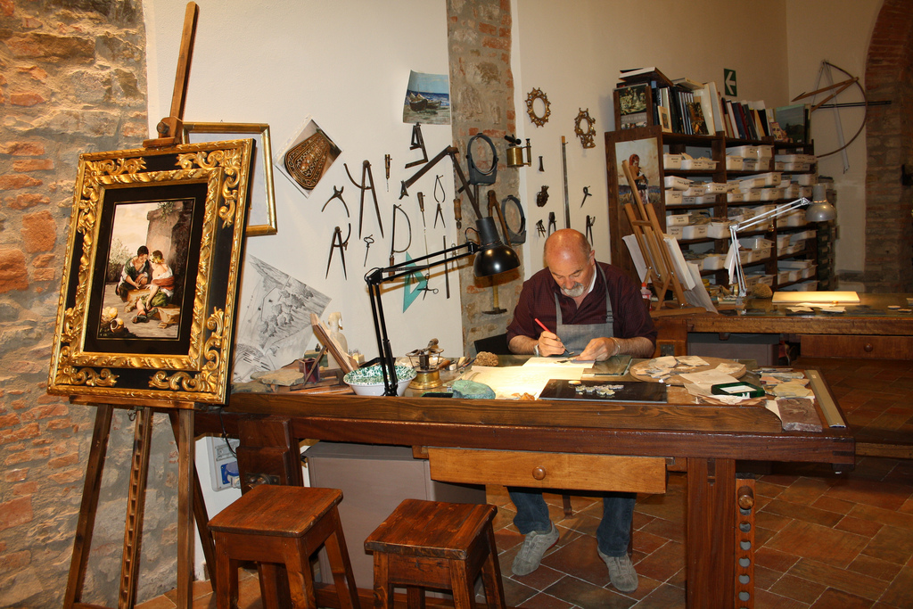 An Artisan in Oltrarno Florence