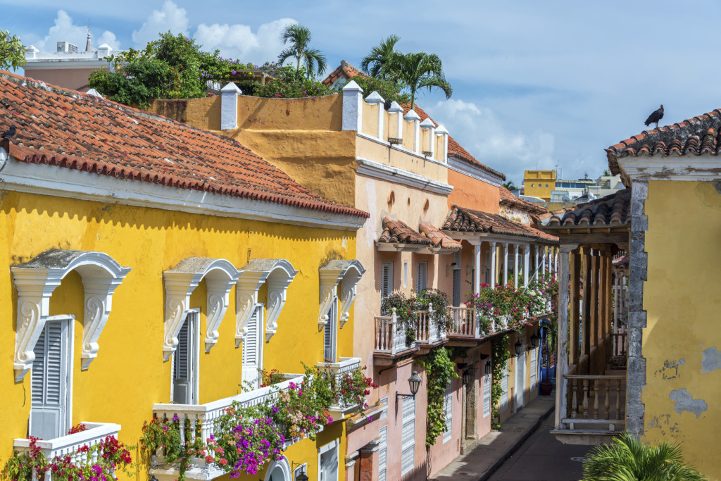 the Colors of Cartagena, Colombia