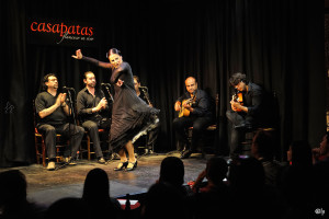 The Flamenco Project, Casapatas in Madrid, Spain